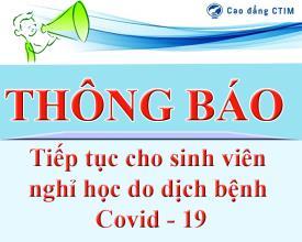 Thông báo sinh viên nghỉ học đến hết tháng 3/2020 do dịch bệnh Covid-19